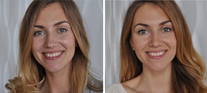Осветление: до и после
