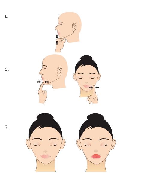 Гимнастика челюсти (картинка)
