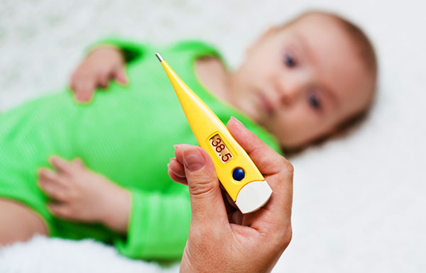 рвота понос температура у ребенка что давать