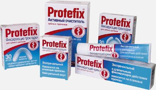 Протефикс для зубных протезов
