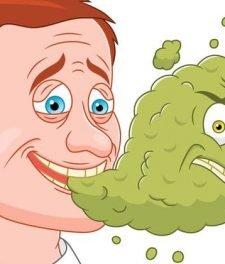 Запах лука изо рта