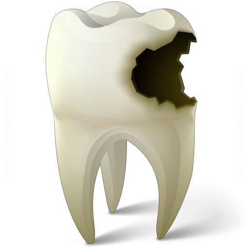 Почему чернеют зубы?